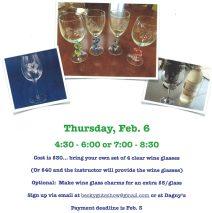 Wine Glass Etching Class